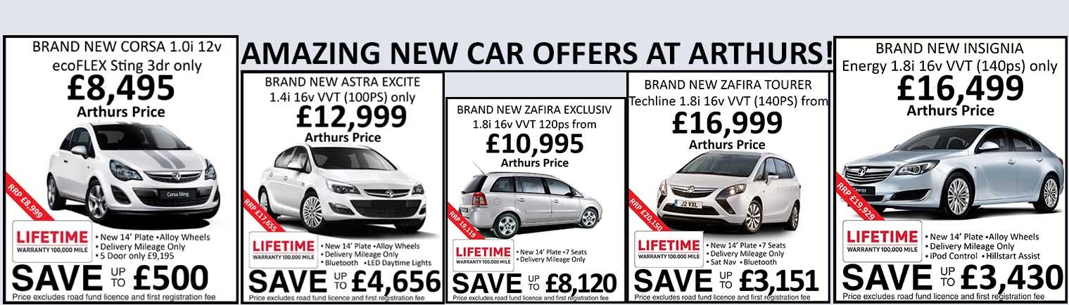 Amazing Deals At Arthurs Vauxhall