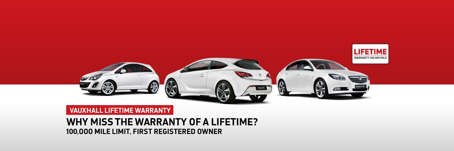 Vauxhall Lifetime Warranty