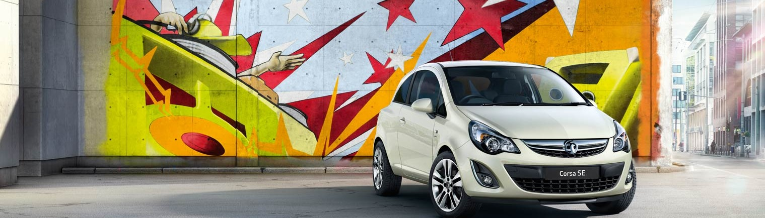New Corsa with 1 Year's Free Insurance