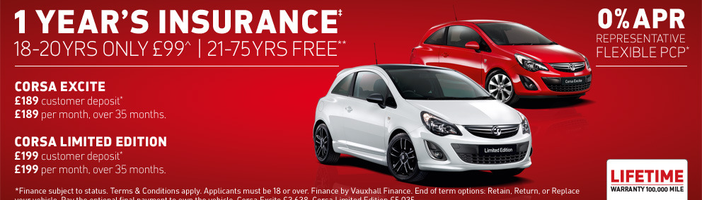 New Corsa Offers