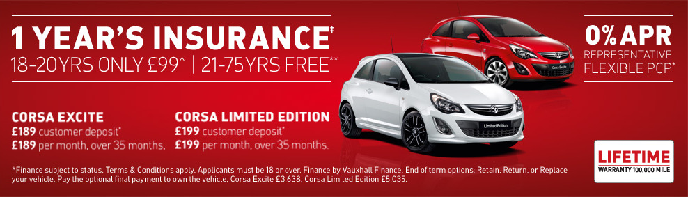 Corsa PCP Offer